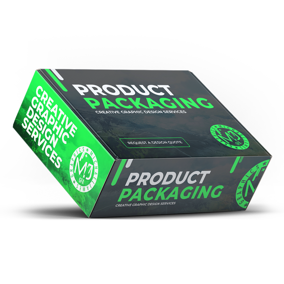 Product Packaging Creative Graphic Design Services